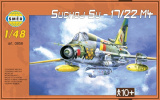 Model Suchoj SU-17/22 M4 v krabici 35x22x5cm Směr