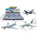 Letadlo kovový model
