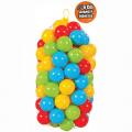 Plastové míčky 6 cm - 100 ks