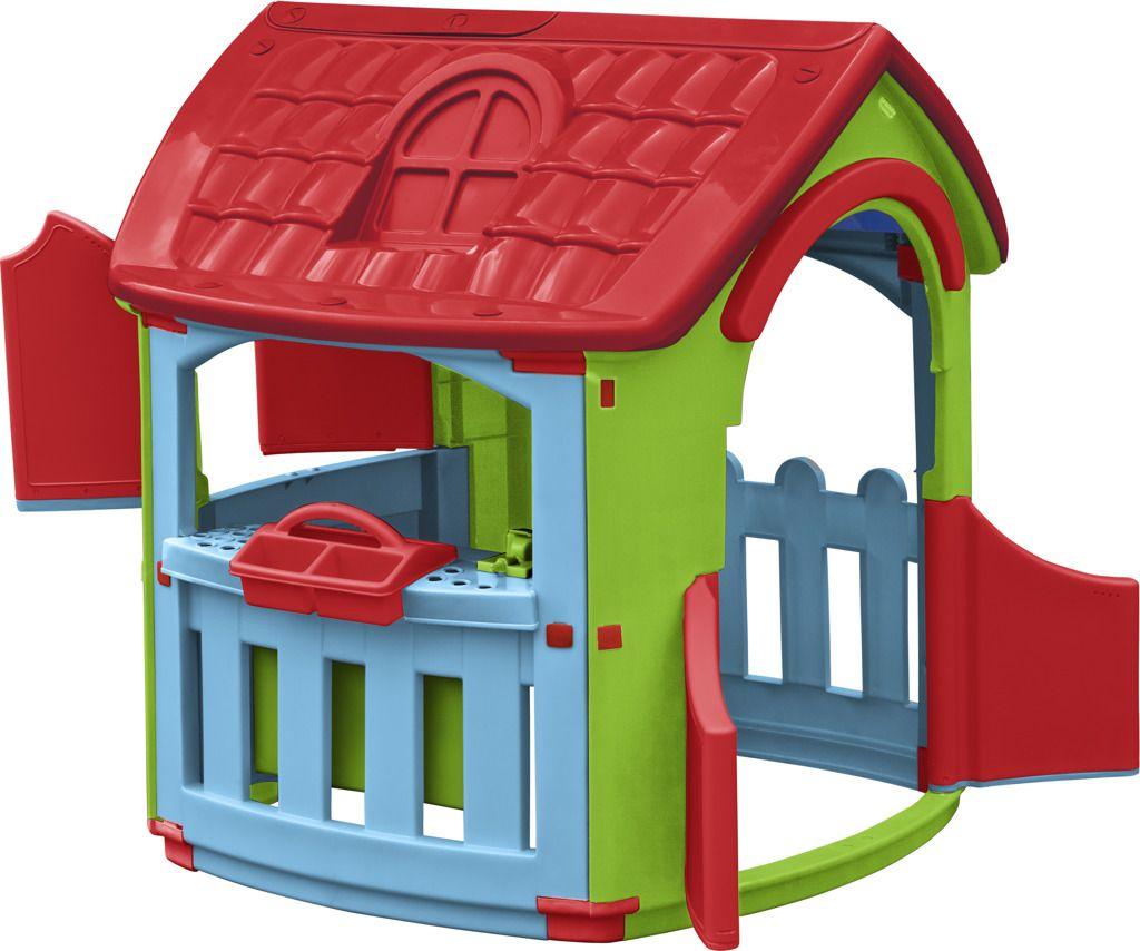 Domeček s dílnou plastový na zahradu Marian Plast
