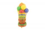 Házecí hra kříž s košíky plast 38cm v síťce Teddies