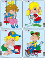 Puzzle Dětské malování 1 5 dílků