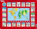 Puzzle Jaký je čas ve světě 35 dílků