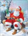 Puzzle Santa Claus 32 dílků