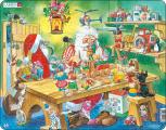 Puzzle Santova dílna 140 dílků