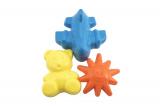 Formičky Bábovky plast 3ks v síťce 15x10cm Teddies