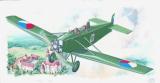 Model Avia BH 11 13,2x19,4cm v krabici 31x13,5x3,5cm Směr