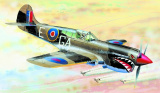 Model Curtiss P-40 K Kittyhawk MK.3 13,2x15,7cm v krabici 25x14,5x4,5cm Směr