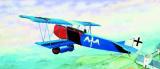 Model Fokker D-8 15,2x19,3cm v krabici 31x13,5x3,5cm Směr