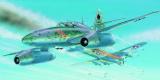 Model Messerschmitt ME 262 B-1a/U1 14,7x17,4cm v krabici 25x14,5x4,5cm Směr