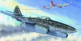 Model Messerschmitt Me 262A 14,7x17,4cm v krabici 25x14,5x4,5cm Směr