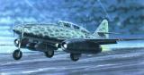 Model Messerschmitt Me262 B-1a/U1 14,7x17,4cm v krabici 25x14,5x4,5cm Směr