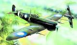 Model Supermarine Spitfire MK.VC 12,8x15,3cm v krabici 25x14,5x4,5cm Směr