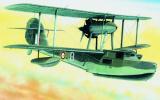 Model Supermarine Walrus 23,6x29cm v krabici 34x19x5,5cm Směr