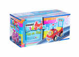 Odrážedlo auto plast modré výška sedadla 20cm v krabici 48x23,5x22,5cm 12-35m Teddies