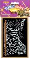 Škrábací obrázek zlatý 15x10cm 24ks v boxu SMT Creatoys