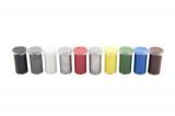Unikolky modelářské barvy sada 9 barev + matný lak zdarma v krabičce Teddies
