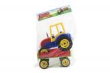 Traktor Farmer XXL s vlekem plast 69cm v sáčku Teddies