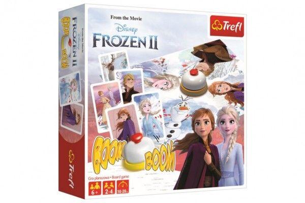 Boom Boom Ledové království II/Frozen II společenská hra v krabici 26x26x8cm Trefl