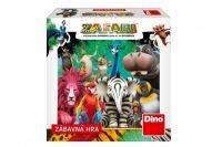 Zafari společenská hra v krabičce 13x13x4cm