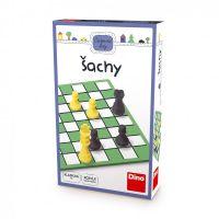 Šachy cestovní hra v krabičce 11,5x18x3,5cm Dino