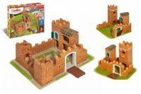 Stavebnice Teifoc Rytířský hrad II 435ks v krabici 43x33x11cm