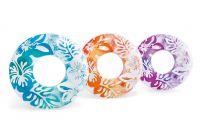Kruh plovací Květiny 91 cm