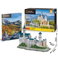 Puzzle 3D NG Zámek Neuschwanstein 121 dílků