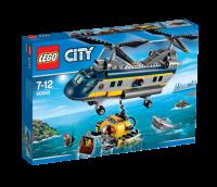 Lego City 60093 Vrtulník pro hlubinný mořský výzkum  60093