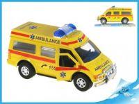 Auto ambulance na setrvačník + 27 cm