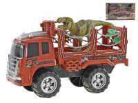 Auto přepravník 44 cm na setrvačník s dinosaurem 24 cm