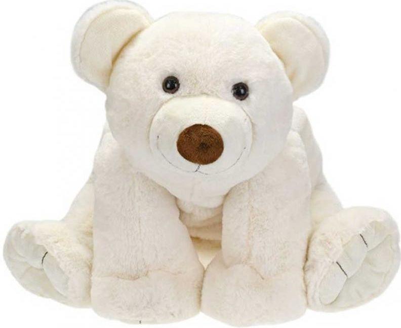 Lední medvěd 37 cm plyš Mikro Trading