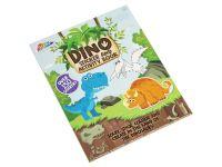 Omalovánky se samolepkami Dino