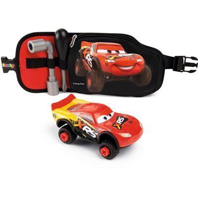 Pás s nářadím a auto Cars Blesk McQueen XRS Hermanex