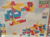 Stavebnice Klix Cubes 60 dílů plast