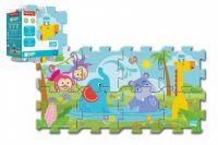 Pěnové puzzle Fisher Price 31x32cm 8ks v sáčku