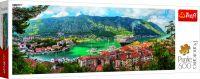 Puzzle panoramatické Kotor, Montenegro 500 dílků
