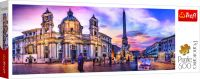 Puzzle panoramatické Piazza Navona, Řím 500 dílků