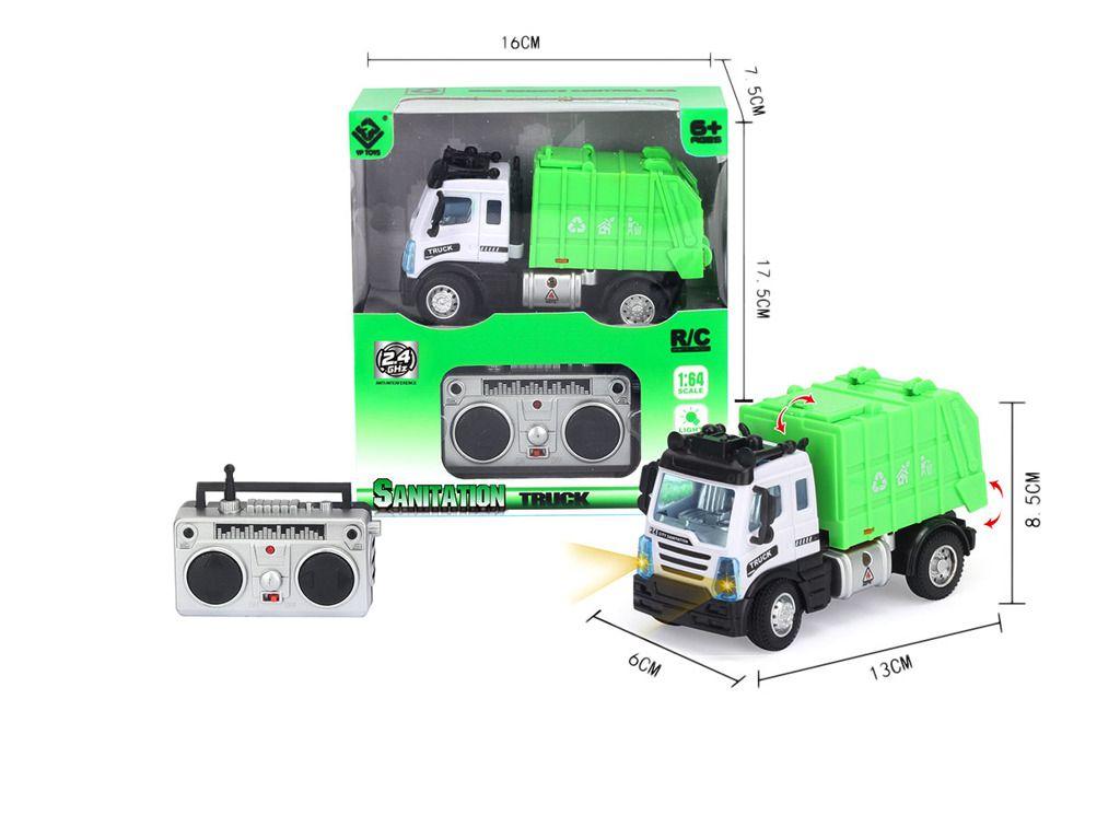 R/C Mini Technické služby / Popelářský vůz 1:64 Epline