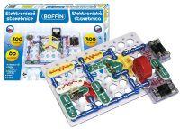 Stavebnice Boffin 300, elektronická, 300 projektů , stavebnice, pro kluky, elektronická stavebnice Conquest