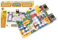 Stavebnice Boffin 500 elektronická 500 projektů na baterie 75ks v krabici Conquest