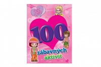 Pracovní sešit 100 zábavných aktivit-dívky CZ verze 21x28cm