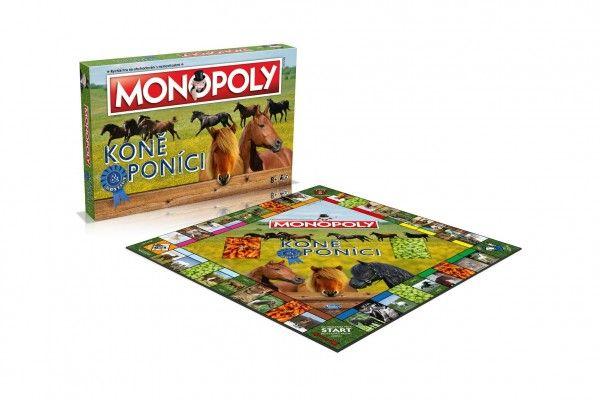 Monopoly Koně a poníci společenská hra v krabici 40x27x5,5cm Trefl