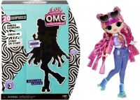 L.O.L. Surprise! OMG Series 3 Roller Chick Fashion Doll