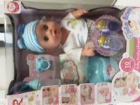 Panenka miminko 30 cm čůrací se zvukem a doplňky