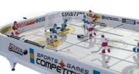 Hokej společenská hra 96x58x12cm plast kovová táhla bez počítadla v krabici Teddies