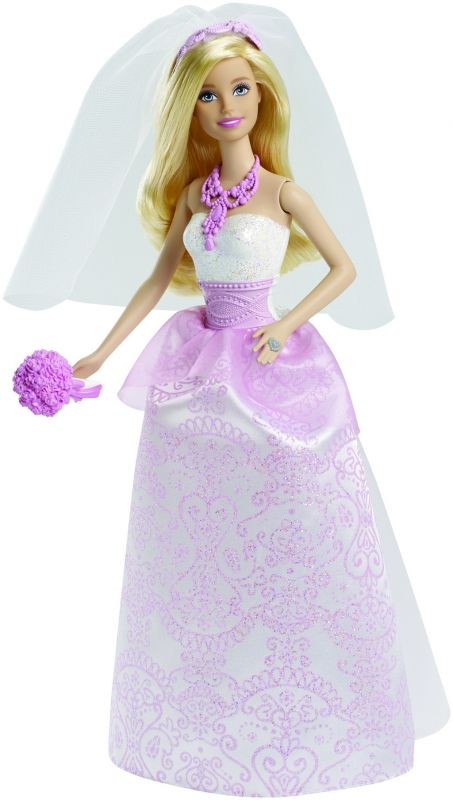 Barbie nevěsta panenka Barbie Mattel