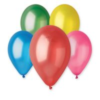 Balonek nafukovací 10cm 10ks v sáčku karneval Smart Balloons