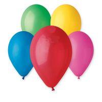 Balonek nafukovací 10cm 15ks v sáčku karneval Smart Balloons