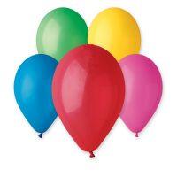 """Balonek nafukovací větší 11"""" 10ks v sáčku karneval Smart Balloons"""